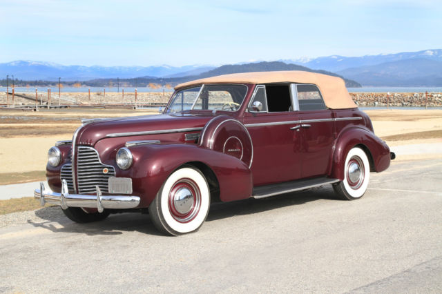 1940 Buick Other 4-door convertible