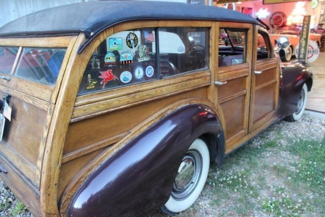 1940 Buick Woody Estate Wagon 59 Used Manual Rebuilt Straight 8