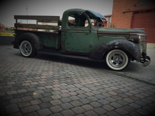1940 chevrolet pickup truck hot rod rat rod sbc turbo 350 auto patina chevy for sale photos. Black Bedroom Furniture Sets. Home Design Ideas