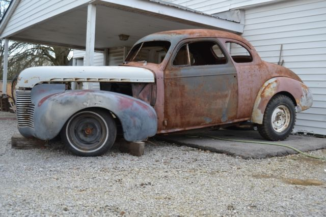 1940 Chevrolet Coupe with 12 bolt rear and Mustang front 2dr Coupe