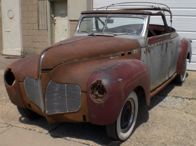 1940 DeSoto Restomod Potential With Hemi Or Restore To Orig.