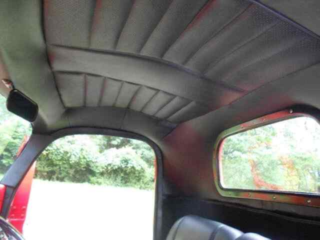 1940 Red Dodge Fire Truck -- with -- interior