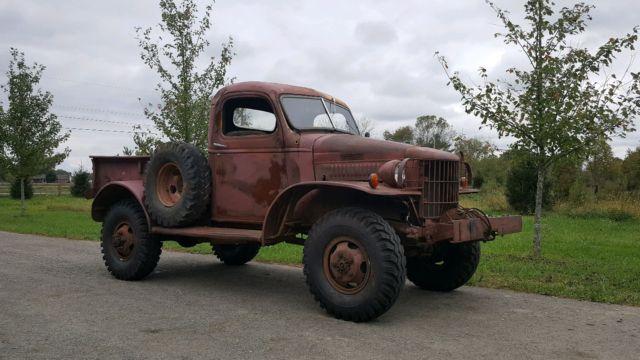 1940 Dodge Wagon Runs And Drives Winch Per