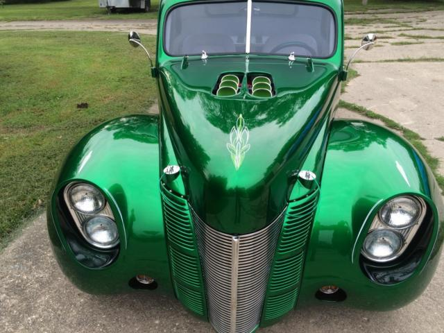 1940 ford 5 window coupe hot rod custom vintage chopped rat rod lead sled for sale photos