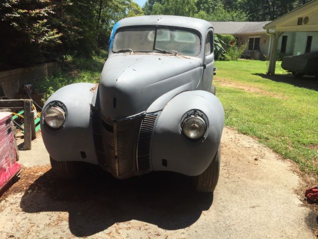 1940 Ford Coupe Restoration Project For Sale Photos Technical