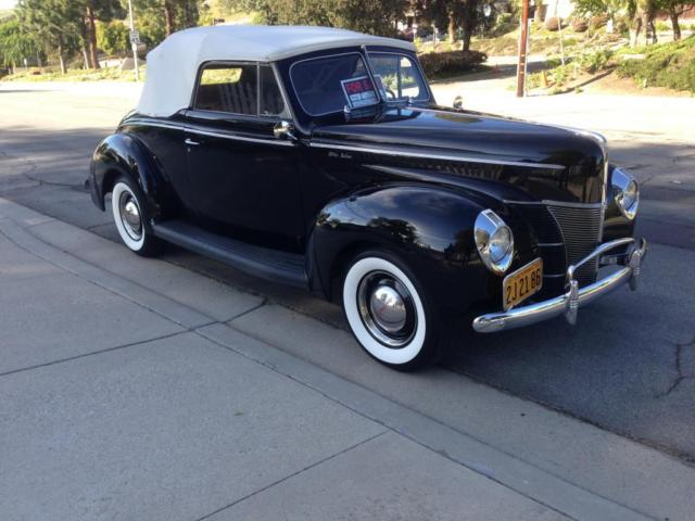 1940 Ford deluxe convertible deluxe