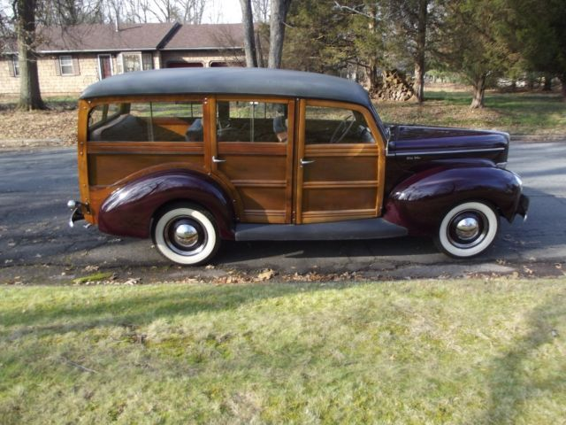 1940 Ford Other Deluxe Woody, wood wagon, early Squire