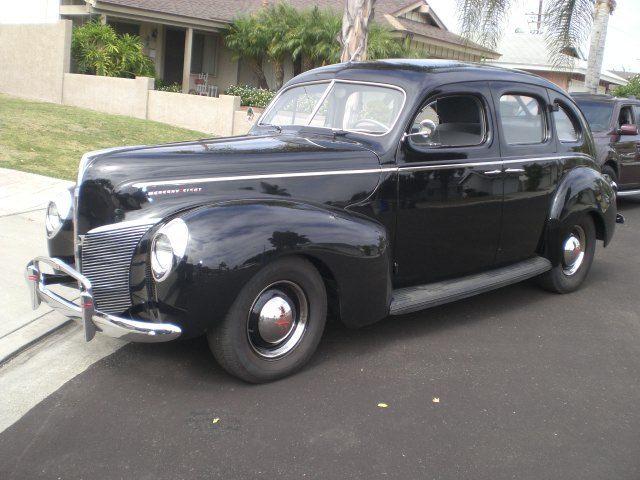 1940 ford lincoln mercury 4 door sedan for sale photos for 1940 ford 4 door sedan