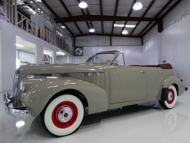 1940 Other Makes LaSalle Series 52 Convertible Sedan NUMBER 40 OF ONLY 75 PRODUCED!