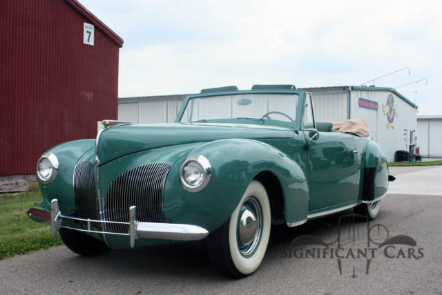 1940 Lincoln Continental Convertible The Rockefeller