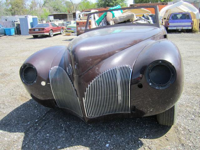 1940 lincoln continental zephyr cabriolet convertable v 12. Black Bedroom Furniture Sets. Home Design Ideas
