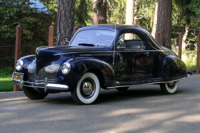 1940 Lincoln Zephyr 3 Window Coupe For Sale Photos Technical