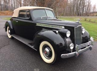 1940 Packard 110 Convertible Right Hand Drive - Classic Packard ...