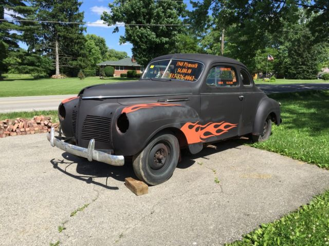 1940 Plymouth Business Coupe Ford Chevy Dodge For Sale