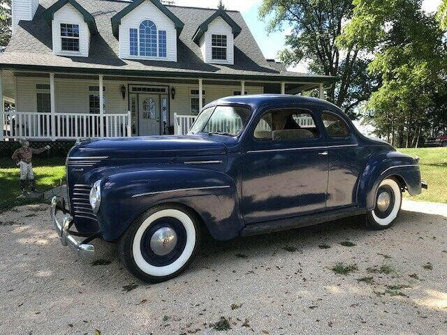 1940 Plymouth P9 Roadking Business Coupe RK NO RESERVE Video!
