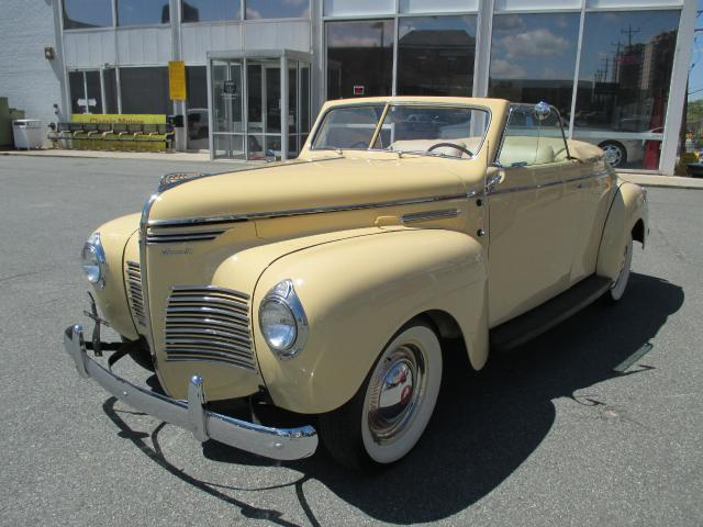 1940 Plymouth Deluxe Convertible Coupe Deluxe Convertible Coupe