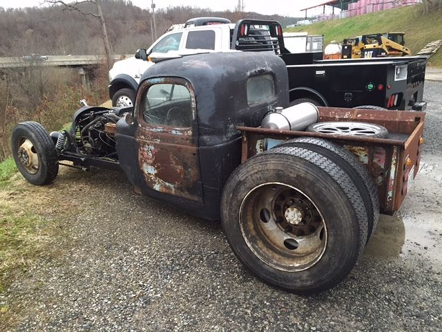 1940 Plymouth Diesel Rat Rod Pickup Cummins 5 9 12 Valve
