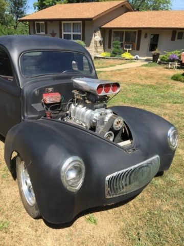 1940 Willys 1940 WILLYS COUPE PRO STREET 1940 WILLYS COUPE