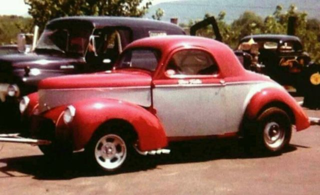 1940 Willys Speedway coupe