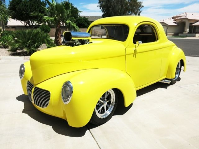1940 Willys Custom Coupe