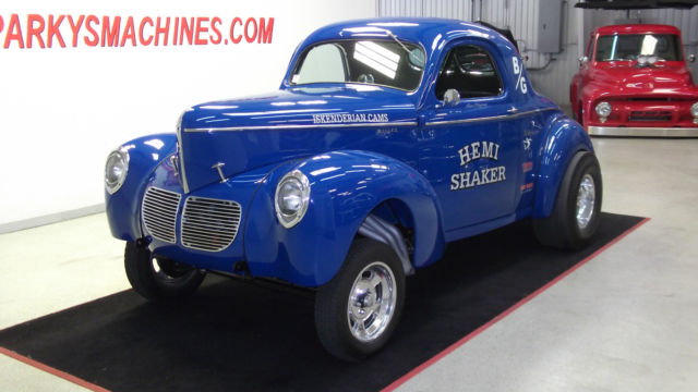 1940 Willys Hemi Gasser for sale: photos, technical specifications