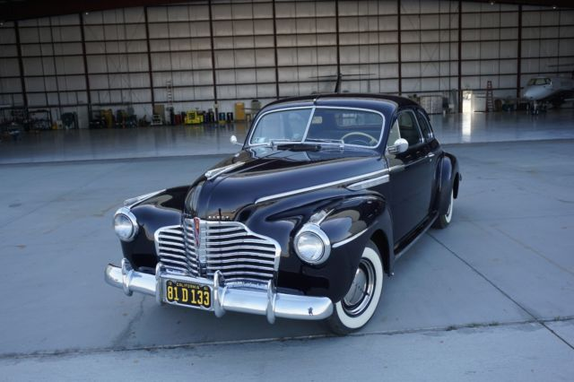 1941 buick 8 super 2-door sport coupe