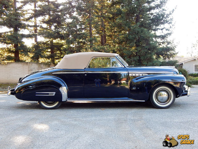 1941 Buick Super Eight 56C Convertible Coupe
