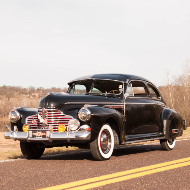 Cars For Sale Buick: 1941 Buick Series 40 Sedanette, Rare Dual Carb Fireball 8