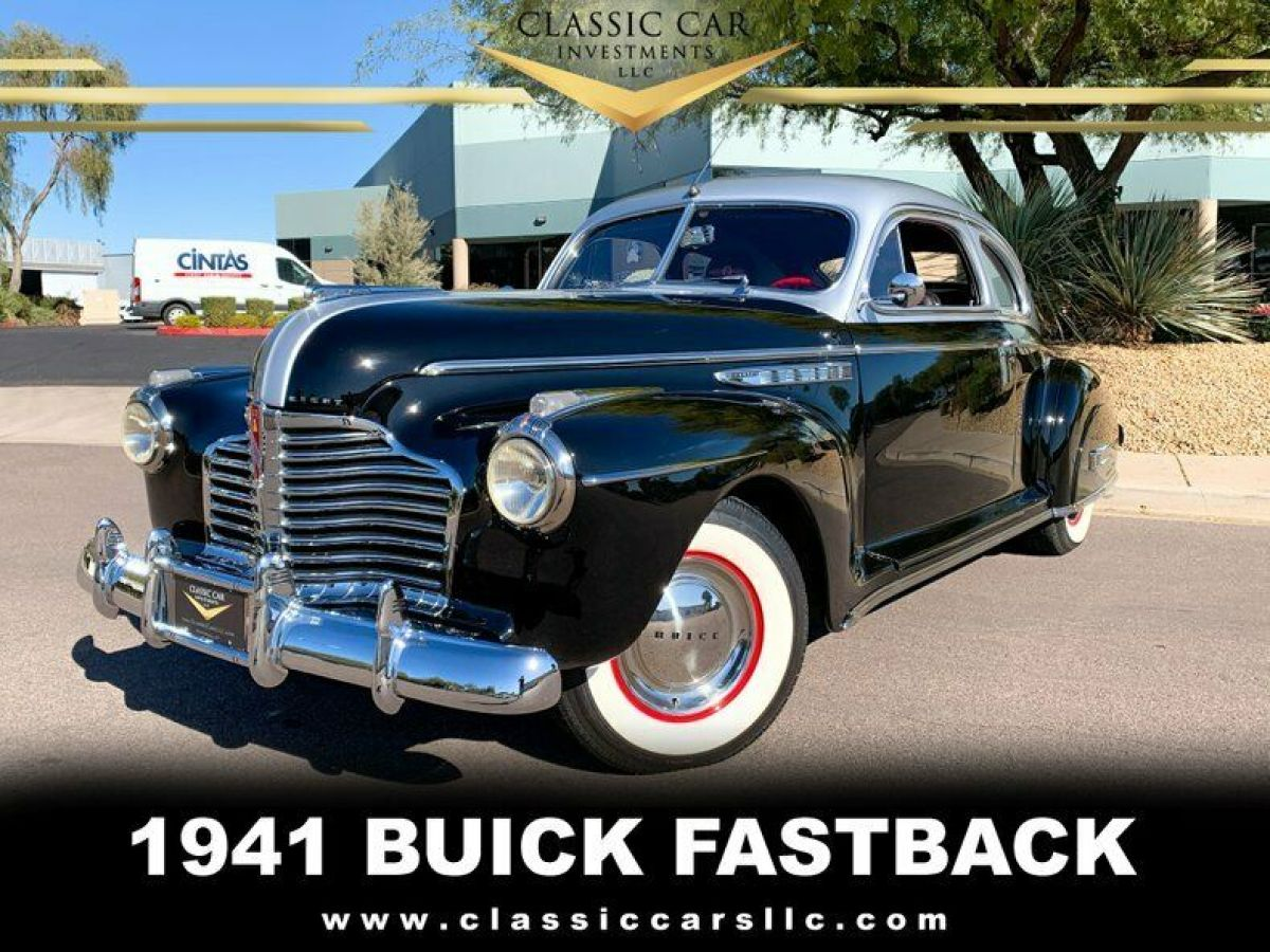 1941 Buick Special 2dr Fastback