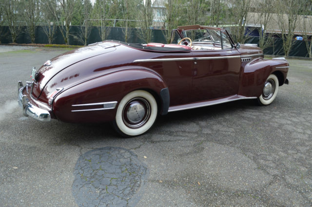 1941 buick super convertible fireball straight eight for Classic american convertibles for sale