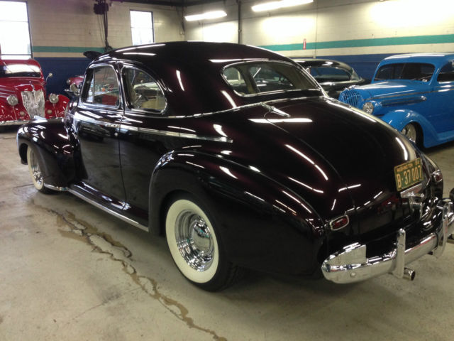 1941 Chevrolet Coupe Special Deluxe Show Car Frame Off