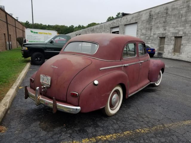 1941 CHEVROLET FLEETLINE SEDAN ORIGINAL CAR CHEVY BARN FIND GREAT 4 RESTORATION