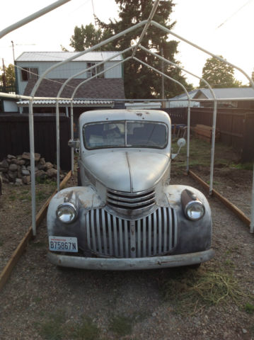1941 chevrolet pickup truck original with extra parts classic car barn find for sale photos. Black Bedroom Furniture Sets. Home Design Ideas