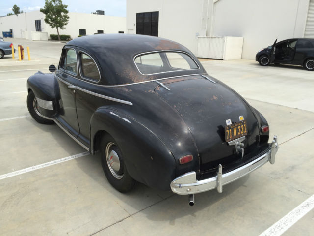 1941 black cherry Chevrolet Other Sedan with white interior