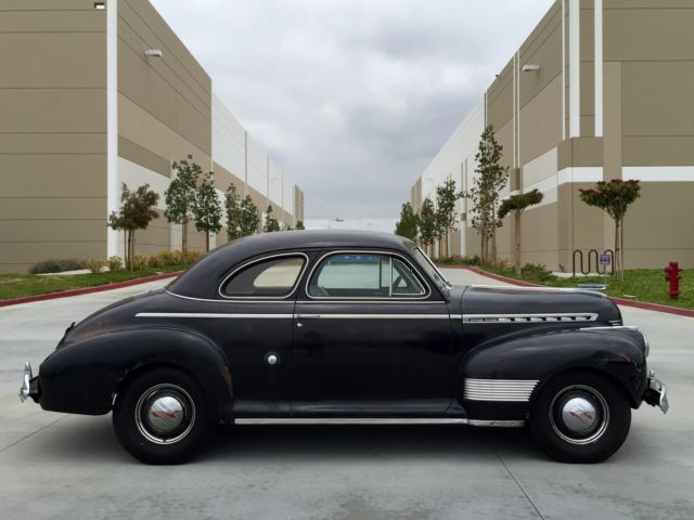 1941 Chevrolet Special Deluxe Business Coupe Survivor All