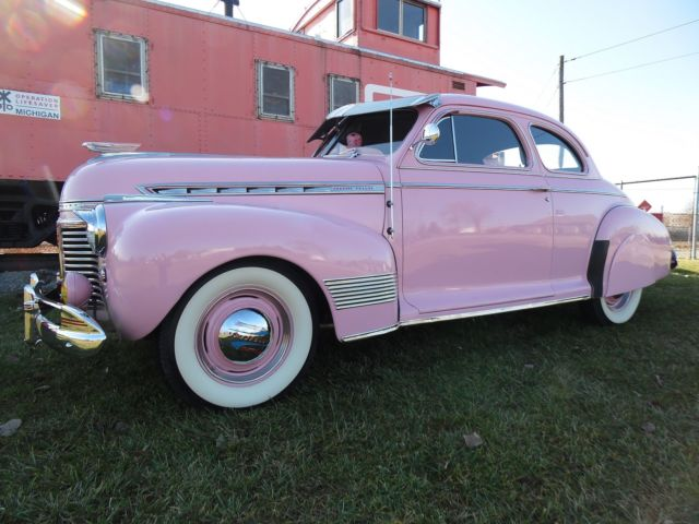 1941 Pink Chevrolet Chevy Coupe
