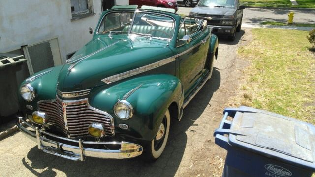 1941 Chevy Convertible 1937 1938 1939 1947 1948 for sale: photos