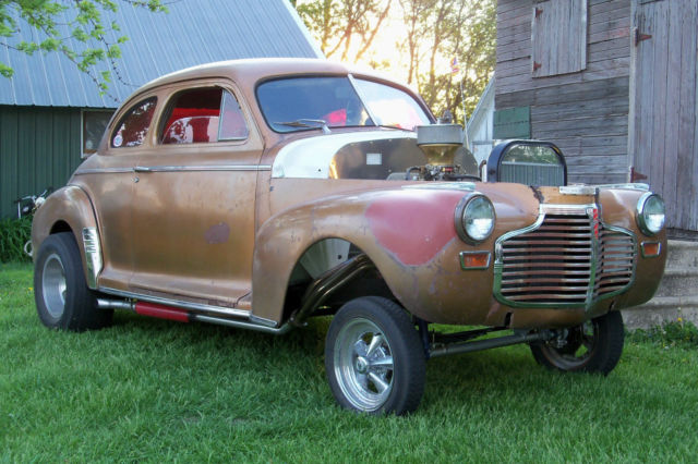 1941 Chevy Coupe Gasser Rat Hot Rod For Sale Photos Technical
