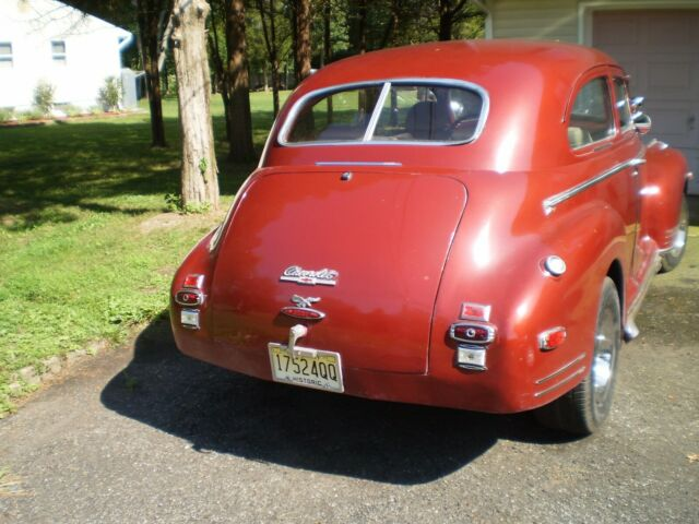 1941 red Chevrolet Other 2 dr with beige interior