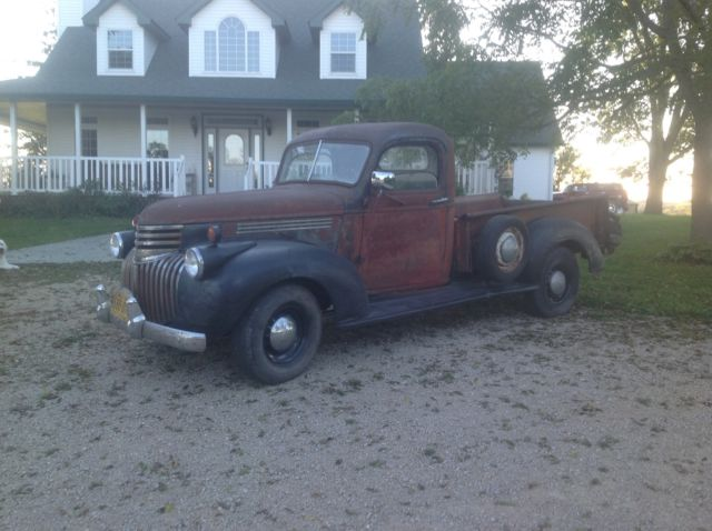 1941 Chevrolet Other Pickups SURVIVOR!