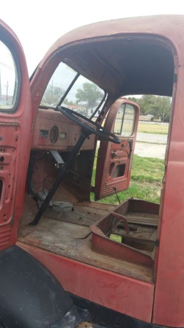 1941 Red Dodge Other Coe Standard Cab Pickup with Brown interior