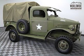1941 Dodge Power Wagon RARE WC12 1/2 TON MILITARY TRUCK