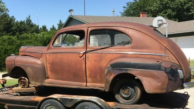 1941 ford 2 door sedan deluxe street rod project for for 1941 ford 4 door