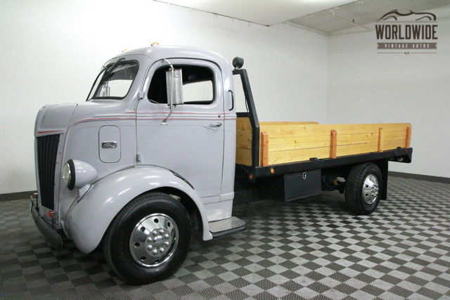 1941 Ford COE RESTORED V8! MODERN CHASSIS!