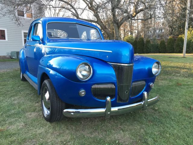 1941 ford coupe hot rod street rod very nice for sale photos technical specifications description. Black Bedroom Furniture Sets. Home Design Ideas