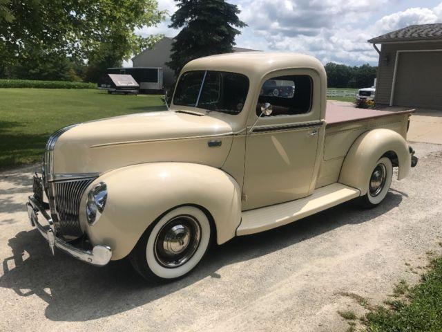 1941 ford pickup flathead v8 hot rod shop truck for sale