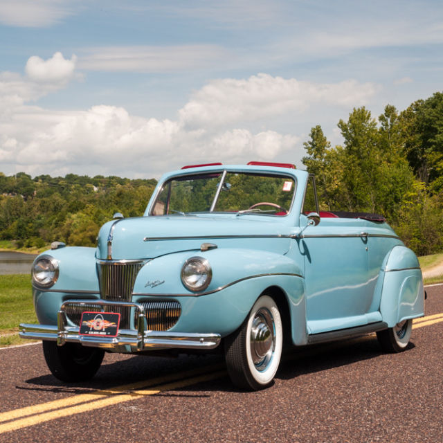 1941 Ford Other Super Deluxe Club Convertible