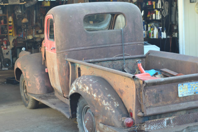 1941 GMC 1/2 ton pickup