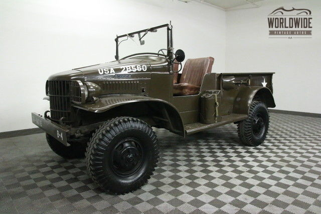 1941 Dodge WC3 RESTORED POWER WAGON. COLLECTOR GRADE!