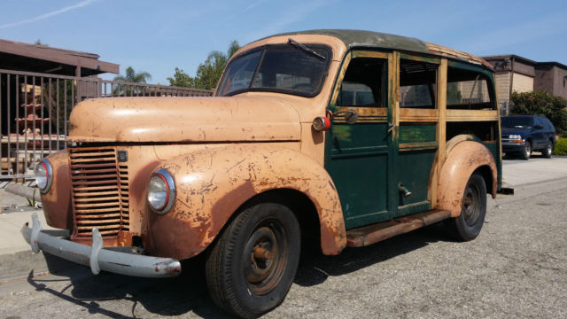 1941 International Harvester WOODY